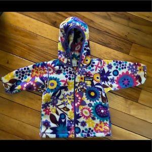 EUC Patagonia Infant Girls Fleece